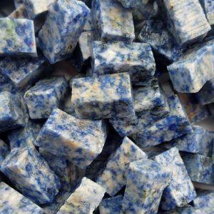 Teselas piedra azul bahía medida 10x10x20mm.