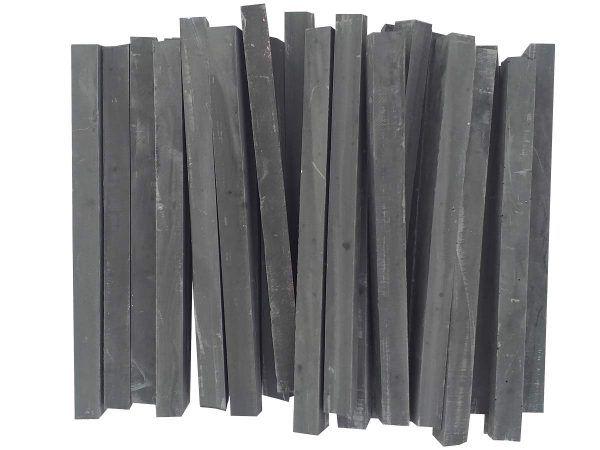 50 barras teselas negras