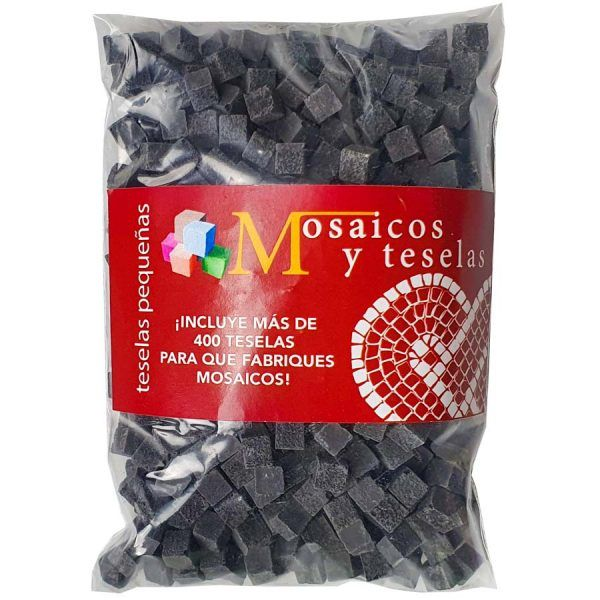 bolsita de 400 miniteselas negras