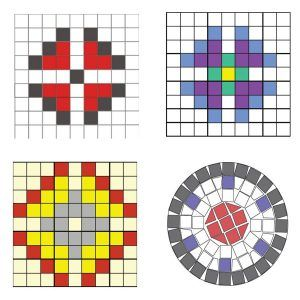 ADAPTACIÓN COVID Maleta mosaico Flor – Pack completo
