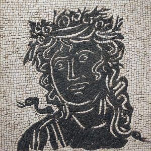 Kit mosaico las estaciones. 4000 teselas de 5mm. Tamaño: 28×28 cm.