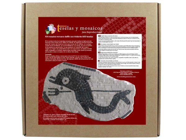 kit mosaico delfin tridente