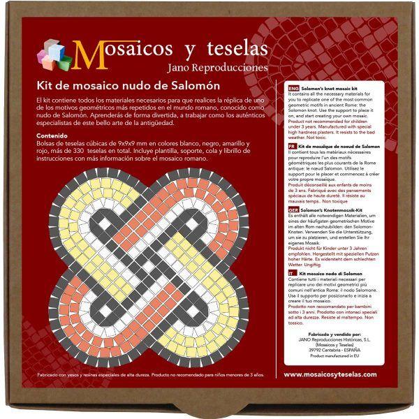 kit mosaico nudo de Salomón