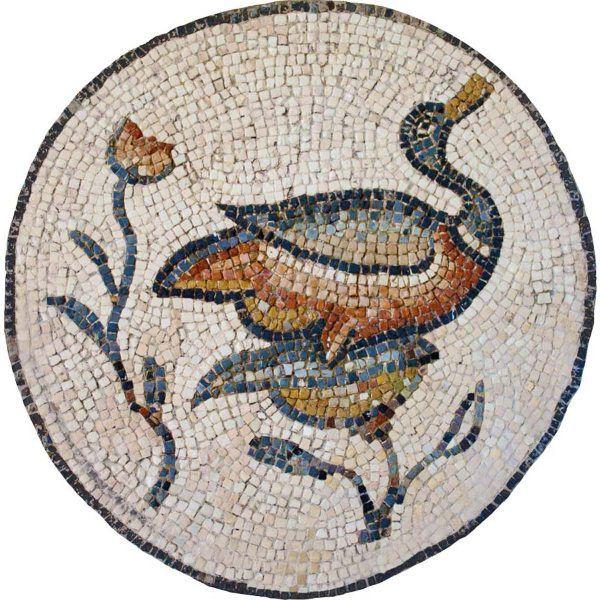 kit mosaico pato circular