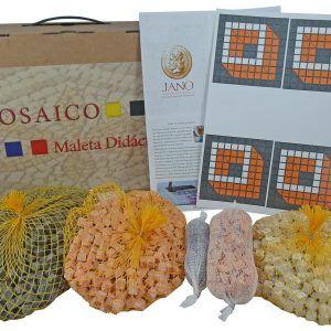 Maleta didáctica mosaico Cubo 3D – Pack Básico