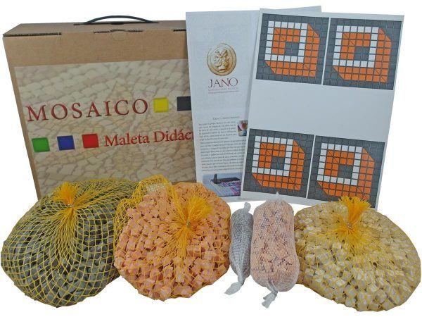 maleta didáctica mosaico cubo