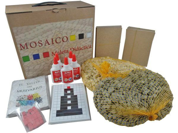 maleta didactica mosaico faro pack completo