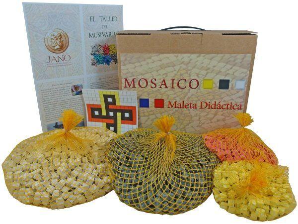 maleta didáctica mosaico nudo Salomón