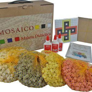Maleta didáctica mosaico nudo Salomón – Pack Completo