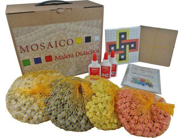 maleta didáctica mosaico nudo de salomón