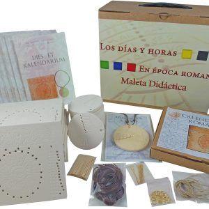 Maleta didáctica el tiempo en época romana – Pack Completo