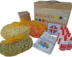 Maleta didáctica mosaico Flor – Pack Completo
