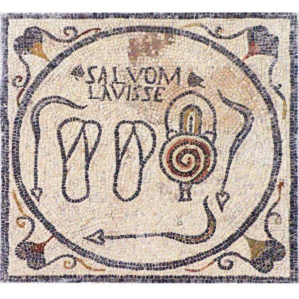 mosaico termas salvom lavisse