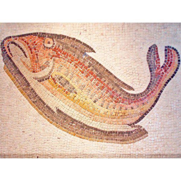 kit mosaico pez colores