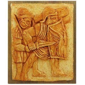 Relieve legionarios romanos de Mogontiacum