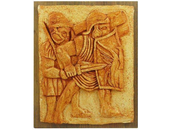 relieve legionarios romanos