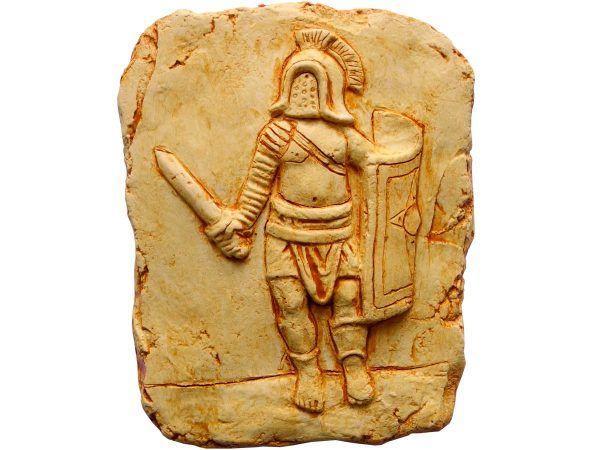 relieve gladiador murmillo de Aquilea