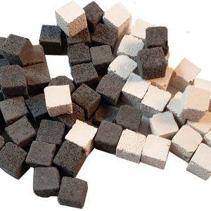Miniteselas mosaico (5x5x5mm)