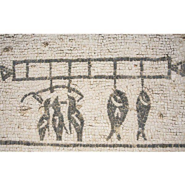 kit mosaico bodegón cocina romana