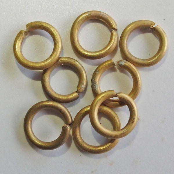 anillos de latón 12 mm