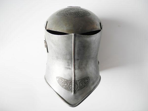 Casco para torneo medieval