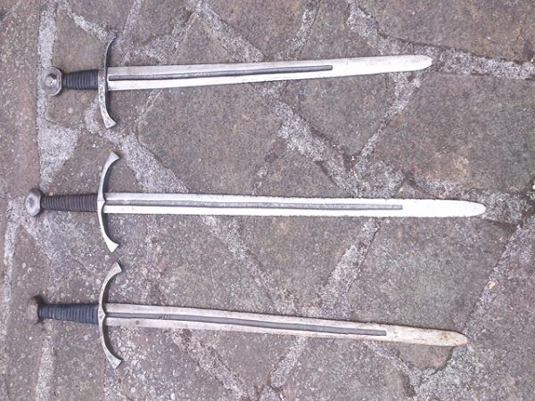 Espada forja para combate