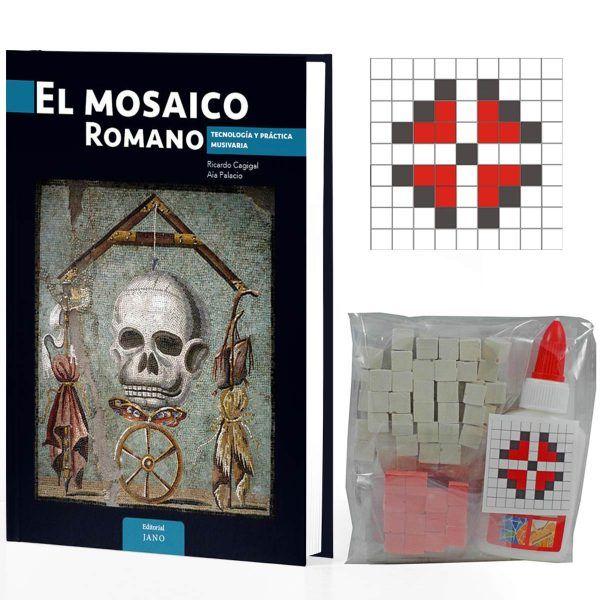 pack regalo libro mosaico dedicado y kit de mosaico