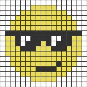 Kit mosaico emoji para niños