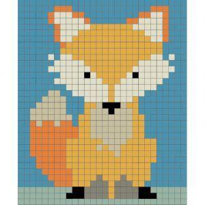Kit mosaico zorro para niños